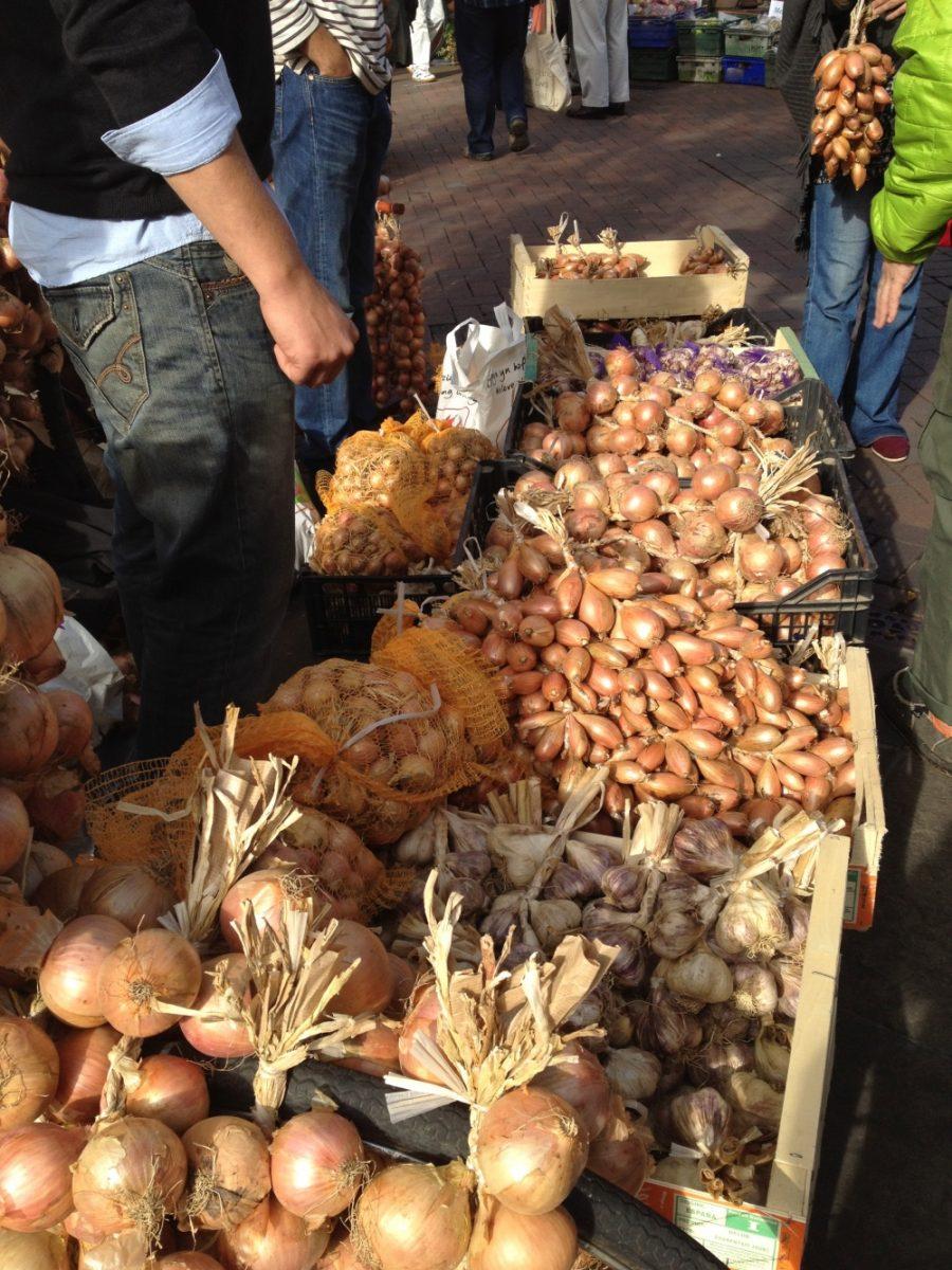 onions, Abergavenny